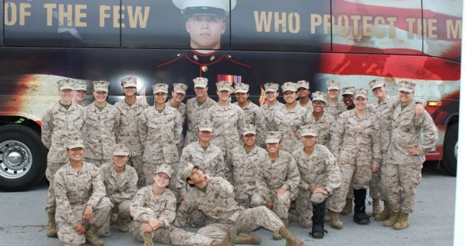 U.S. Marines Join Breast Cancer Battle in Wilmington Race for the Cure®