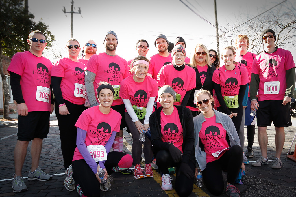Team Hakuna Ma Tatas at 2015 Susan G. Komen Wilmington Race for the Cure